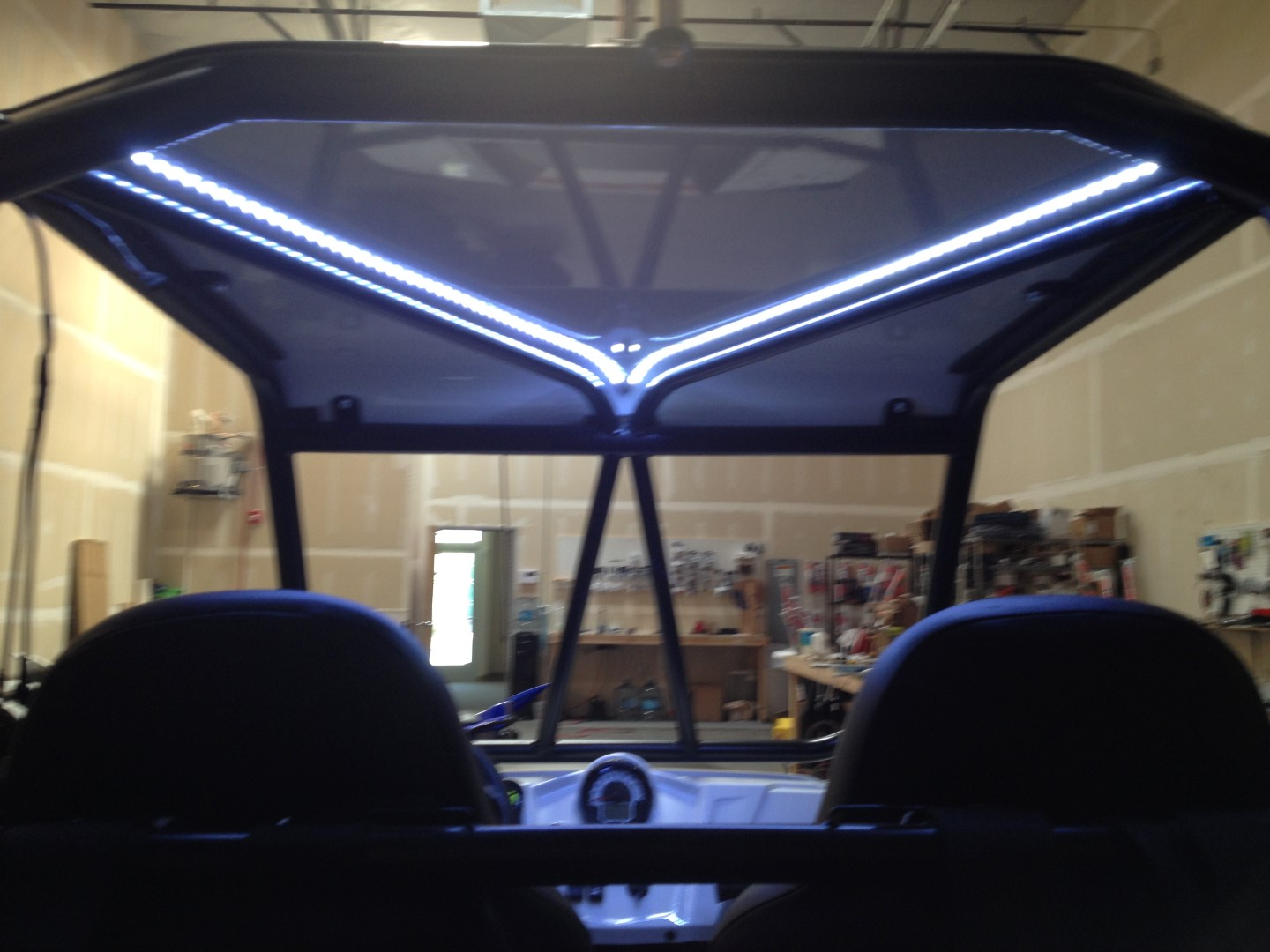 Rzr Xp900 Custom Roll Roll Cage With 30 Quot Led Light Bar