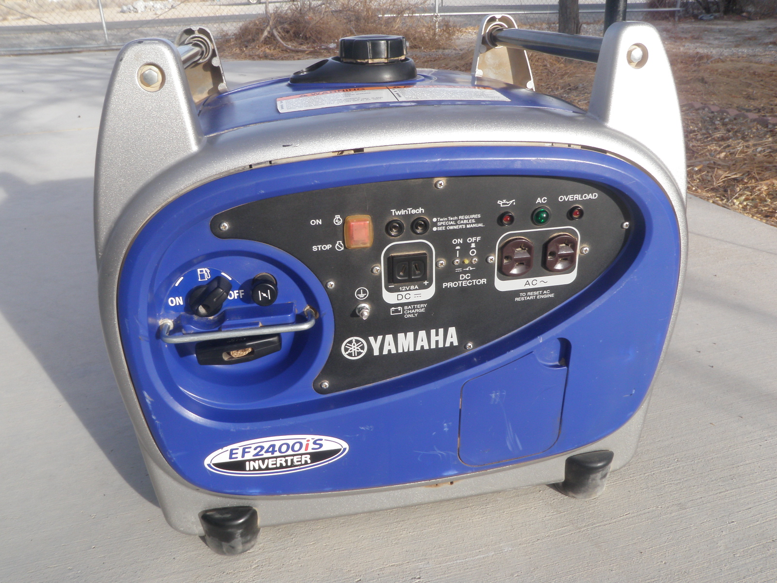 Yamaha generator ef2400is inverter sold rv 39 s for Yamaha generator for sale