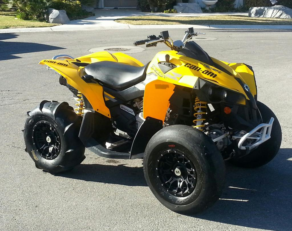 2009 can am renegade 800 4x4 atv 39 s motorcycles for sale dumont dune riders. Black Bedroom Furniture Sets. Home Design Ideas