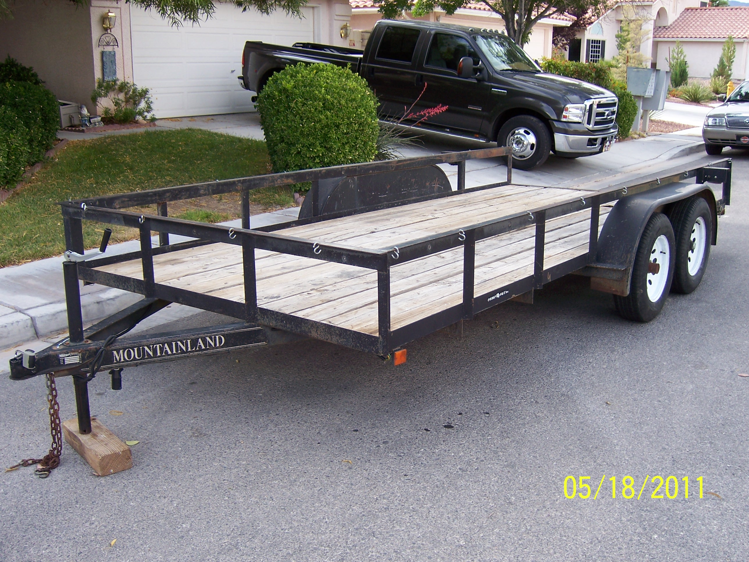 16FT. CAR/ TRAILER - RV\'s / Trailers for sale - Dumont Dune Riders