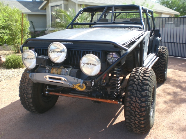 Xj Rock Crawler : Jeep cherokee xj rock crawler currie axles lockers