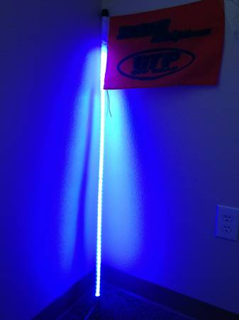 Zeus Whips Led Lighted Whips Multi Colored W Quick