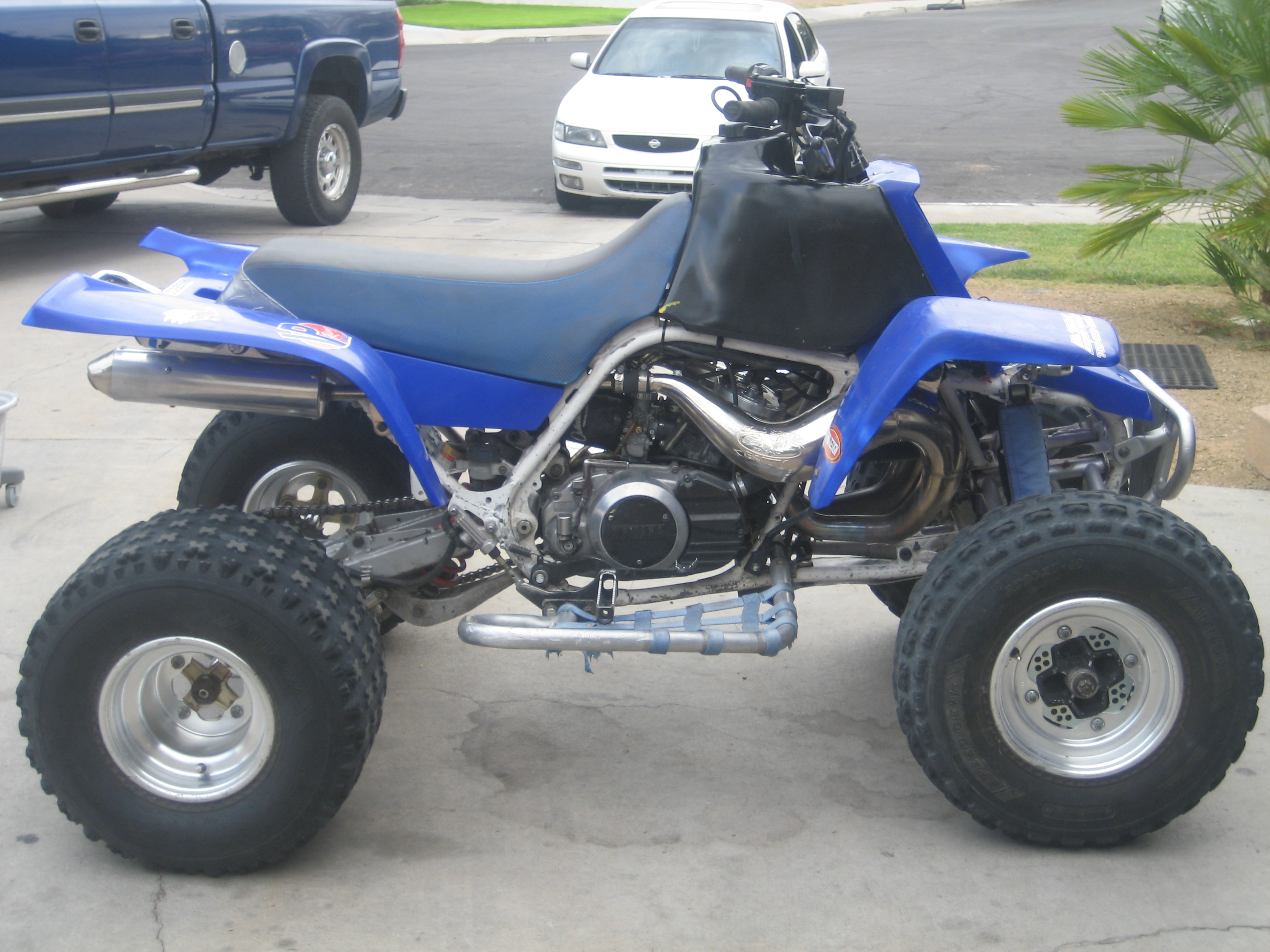 Cheap Yamaha Banshee Mods