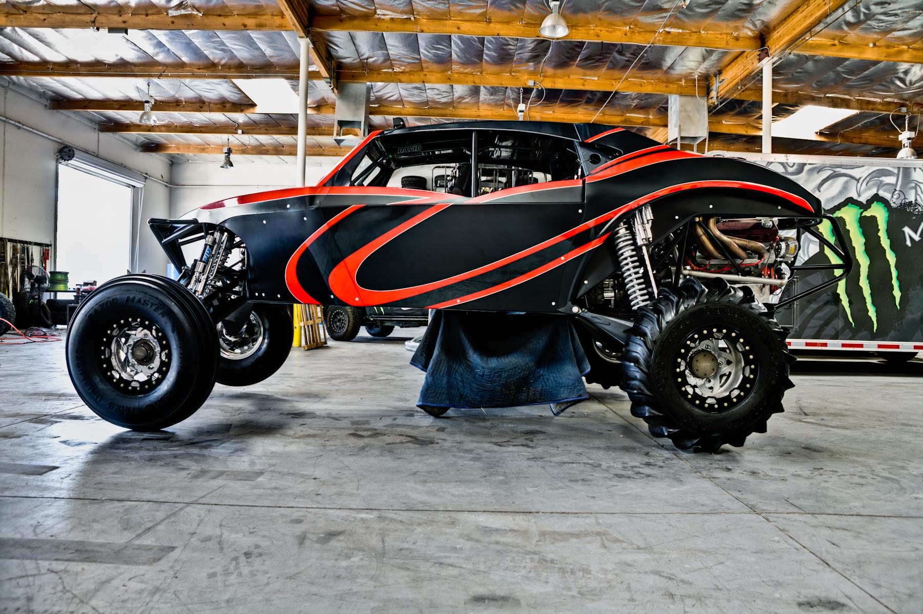 BJ Baldwin's Racer Engineering 4 seat sand car - Sandrails ... Aands Auto