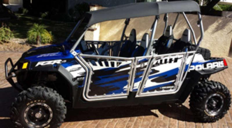 2011 polaris rzr 4 seat robby gordon edition side x sides for sale dumont dune riders. Black Bedroom Furniture Sets. Home Design Ideas