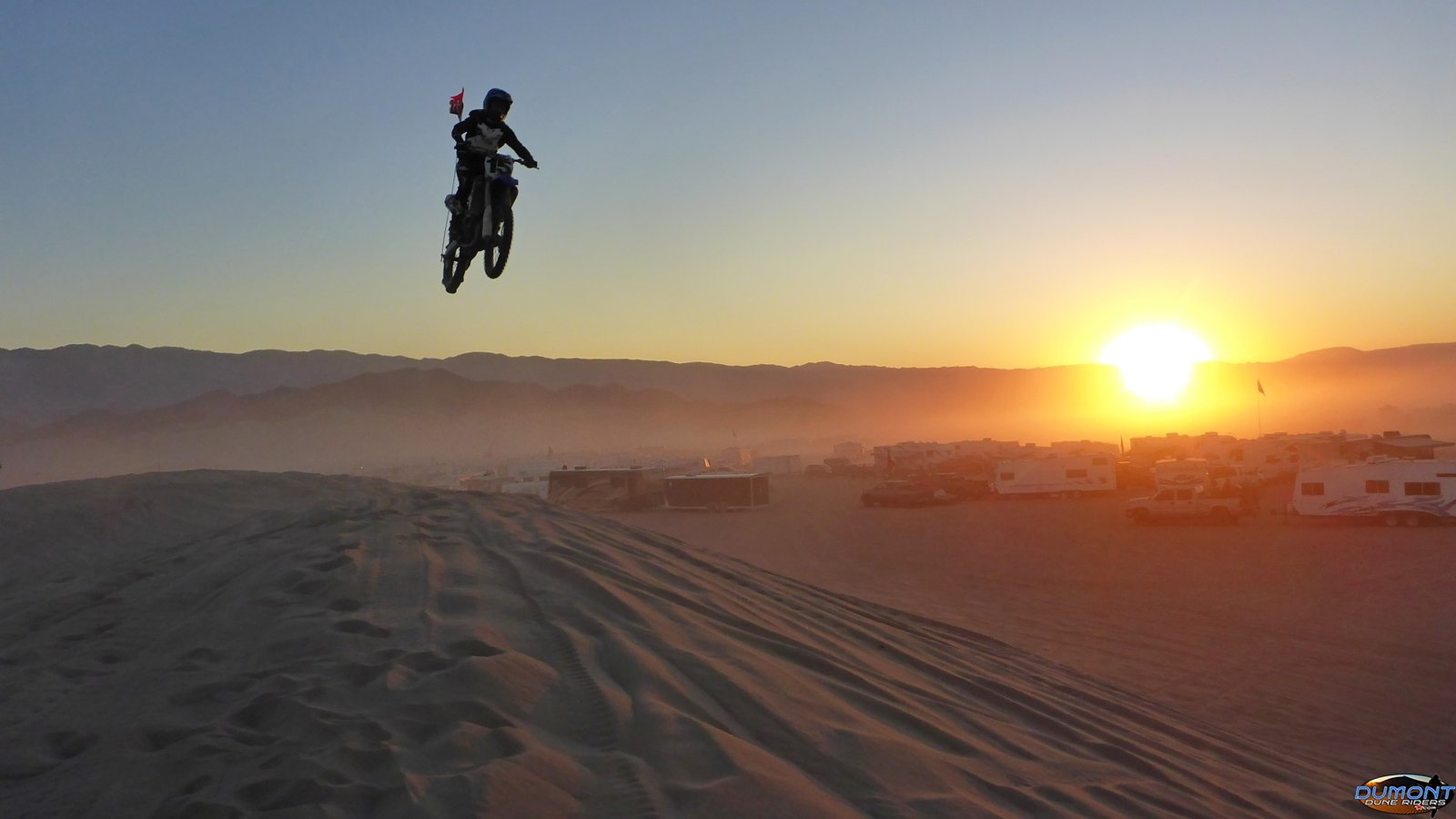 Sending it at sunset, Halloween 2017