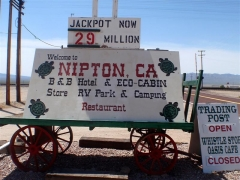 Stopped off at Nipton, CA