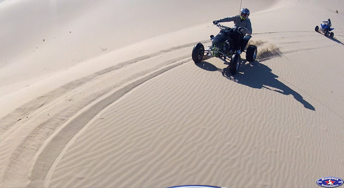 riding through some awesome sand!