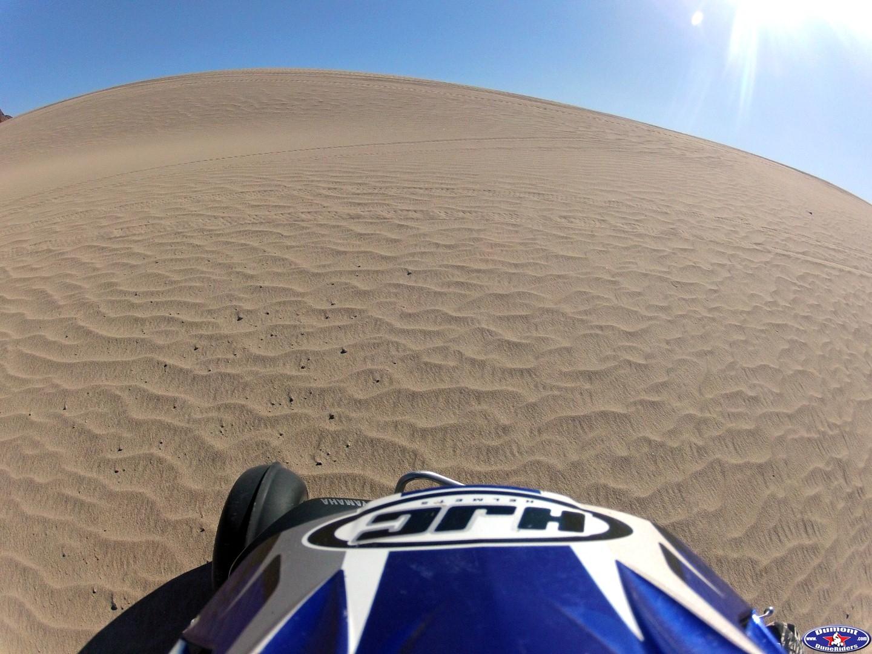 Virgin sand at Little Dumont