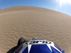 Virgin sand at Little Dumont