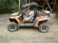 My dad in his Toy