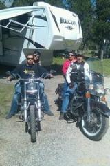 Riding Yellowstone