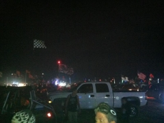 Friday night at comp hill
