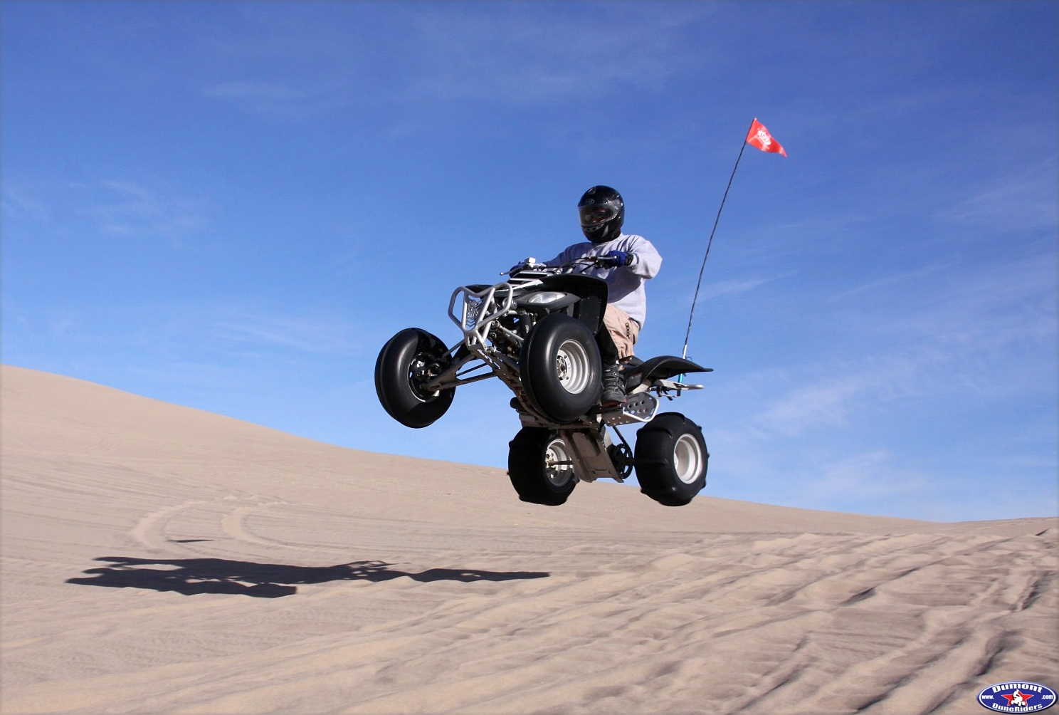 Sunday AM ride,Darrell jumping