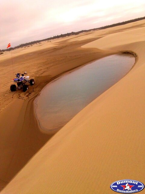 The curves of a woman are a lot like the dunes...