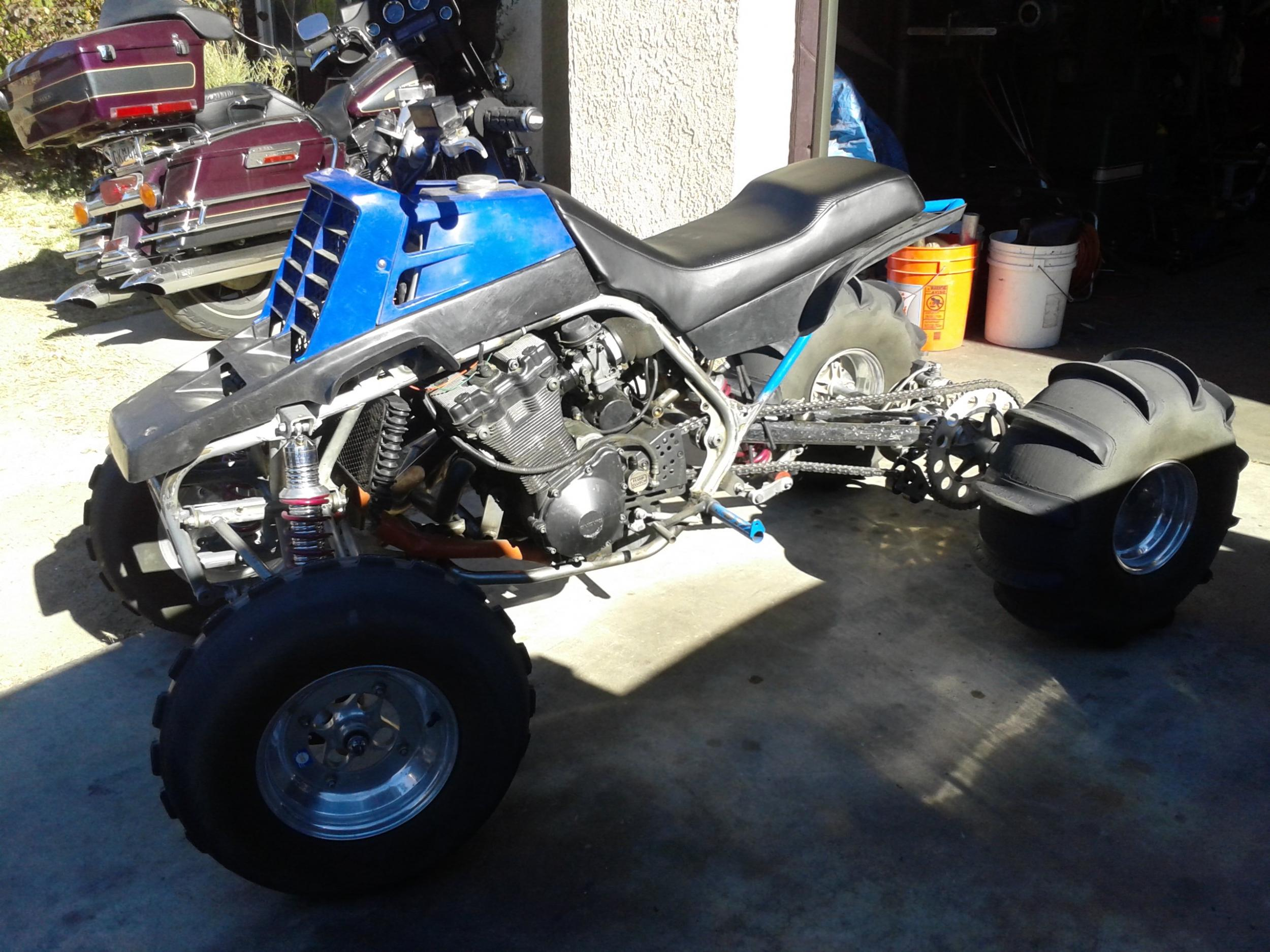 banshee with gsxr 1200 motor - ATV's/ Motorcycles for sale