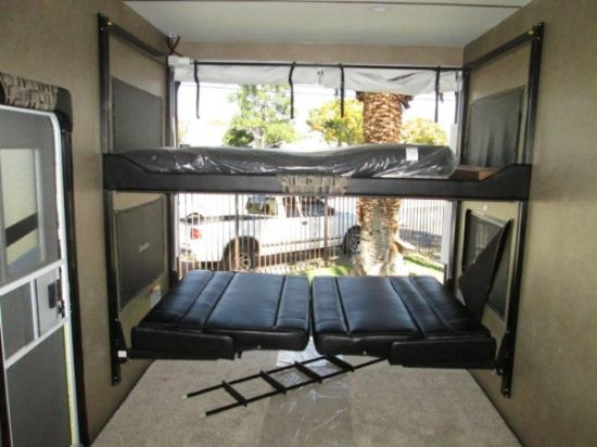 Toy Hauler Dual Couch Bed Lift System Happijac Rv S