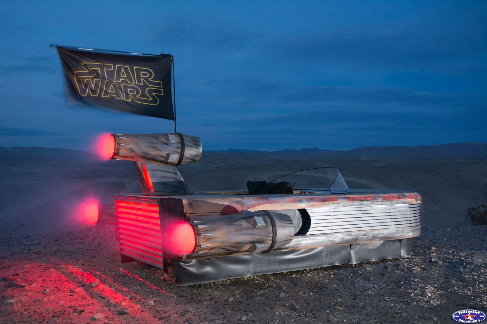 Star Wars Landspeeder RZR