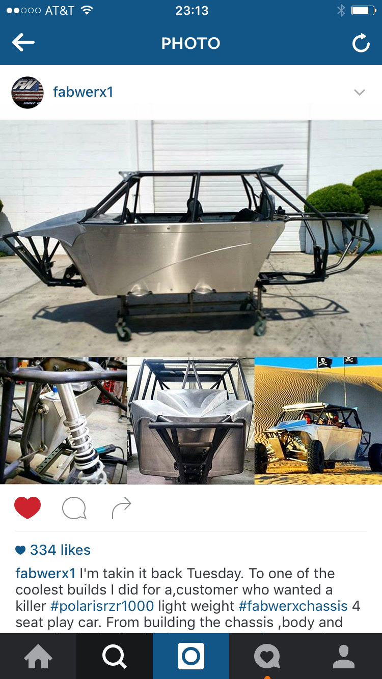 2015 full tube chassis 4seater RZR with a hayabusa - Side x