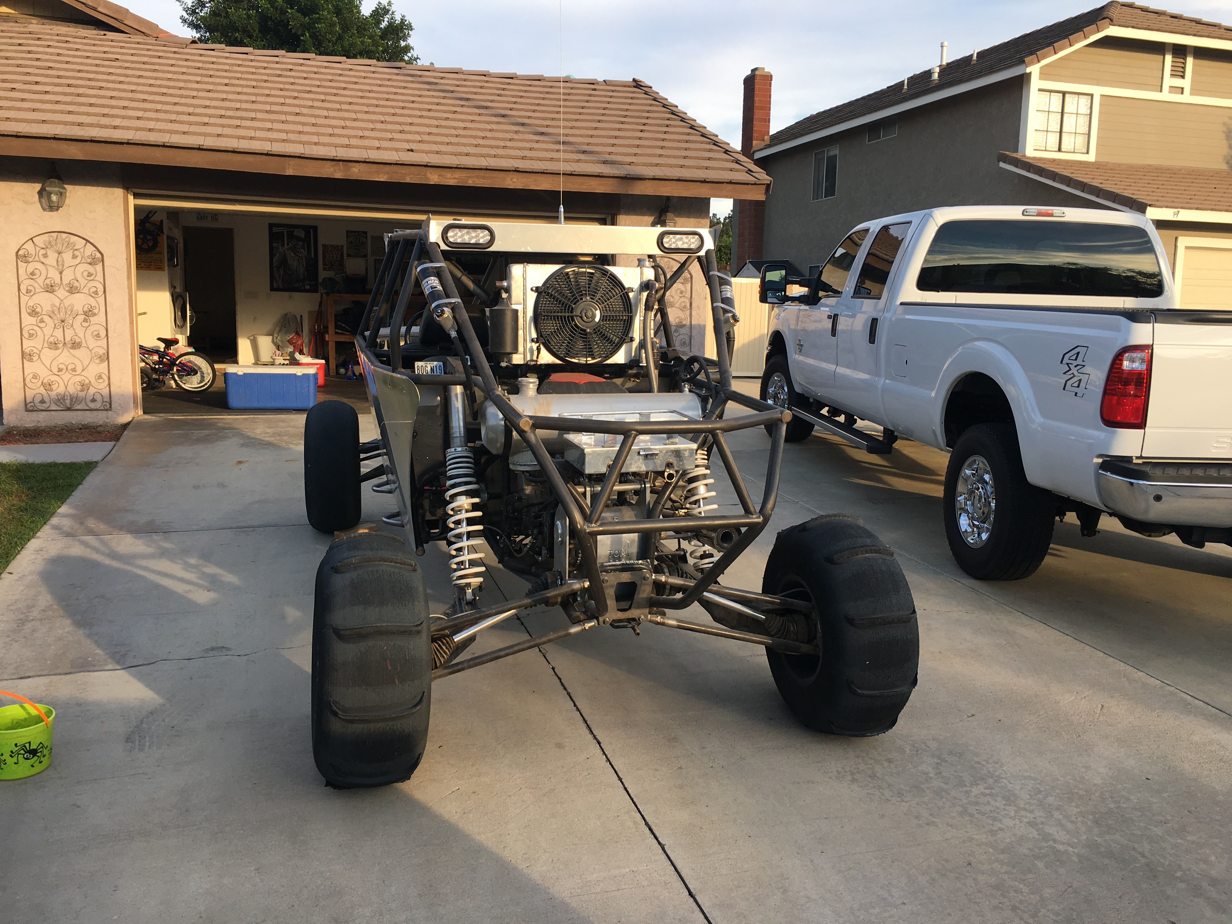 2015 full tube chassis 4seater RZR with a hayabusa - Side x Sides