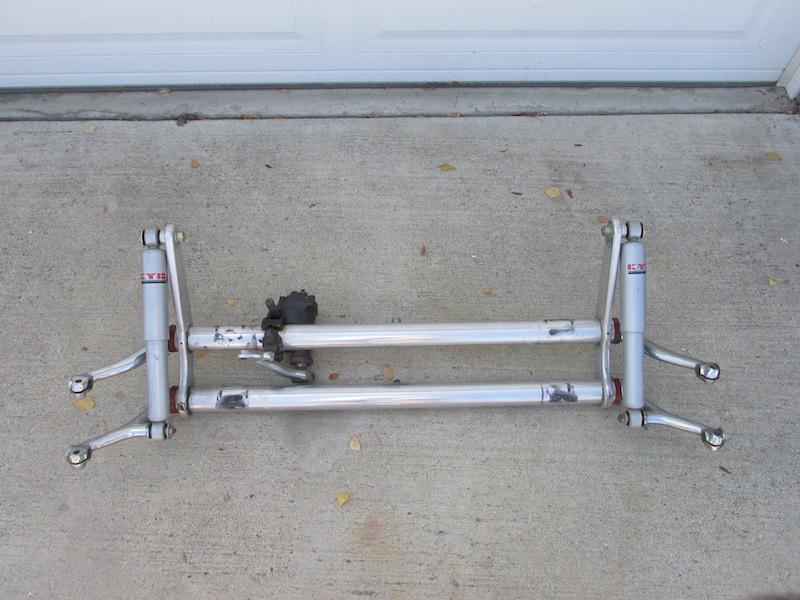 Aluminum front end - Sandrail Parts - Dumont Dune Riders