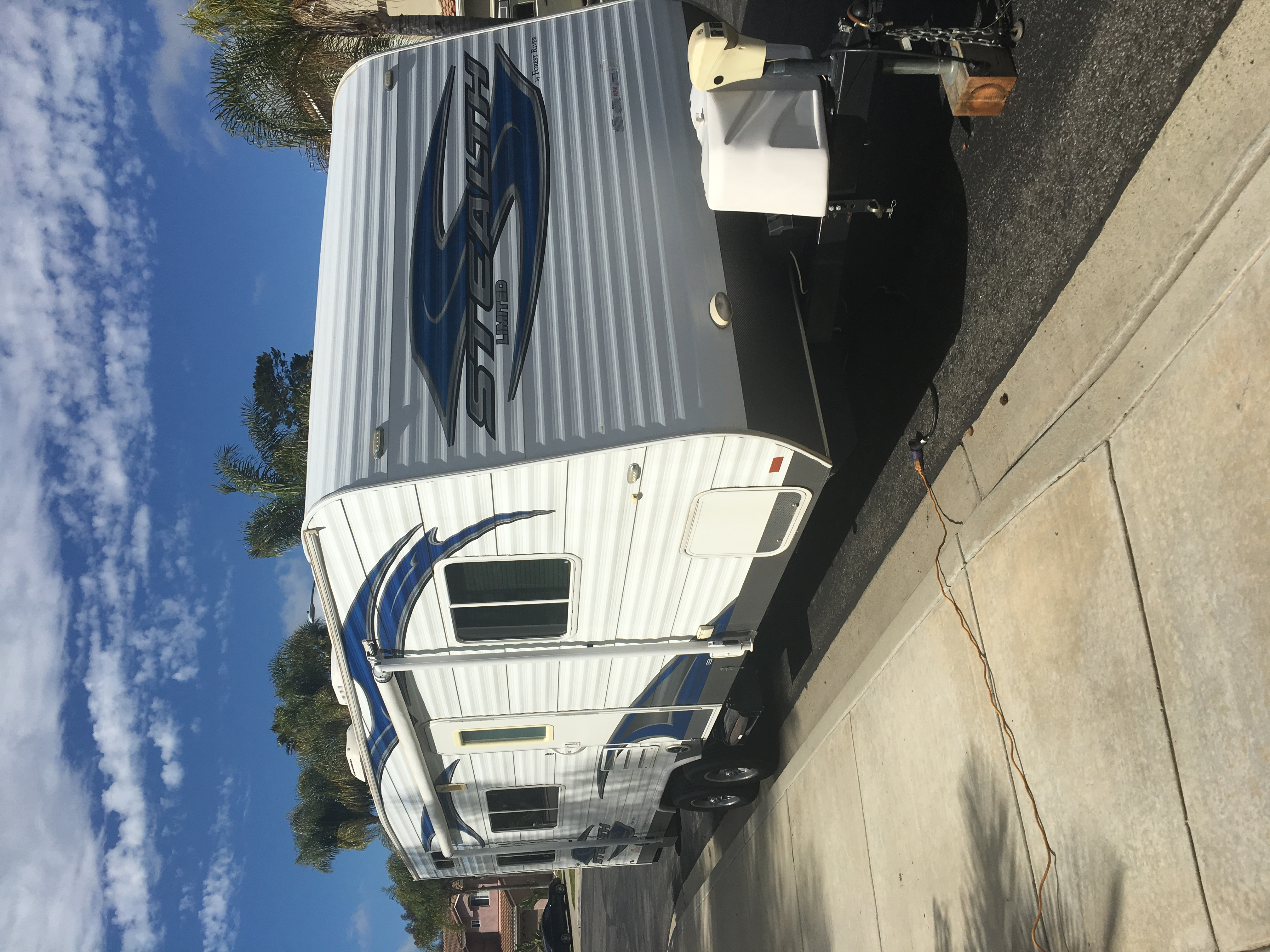 2012 Forest River Stealth 2612 Limited Toy Hauler For Sale ...