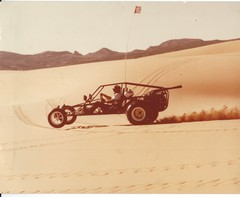 Running the back side of Dumont 1977 in my 2nd Pinto Sandrail