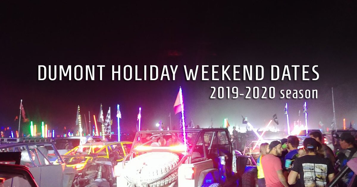 2020 Halloween Weekend Halloween Weekend & Holiday Dates for the 2019 20 Dumont season