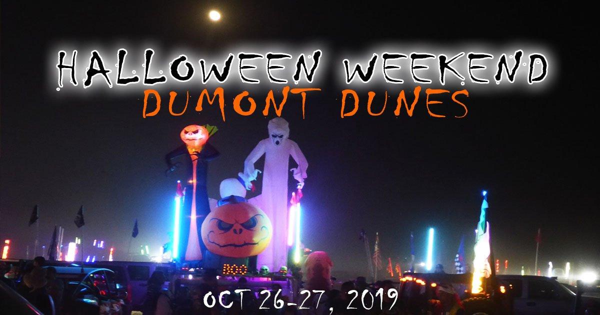 Dumont Dunes Halloween 2020 Halloween Weekend 2019 Dumont Dunes   Dumont News   Dumont Dune Riders